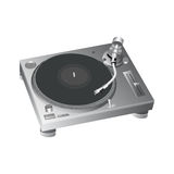 Turntable vector 2 Royalty Free Stock Photos