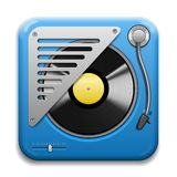 Turntable Vector Icon Stock Photos