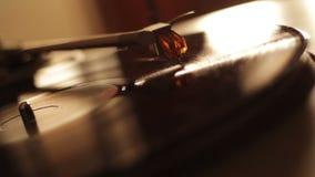 Turntable Vinyl stock video footage