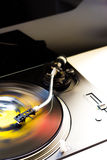 Turntable and vinyl Royalty Free Stock Images