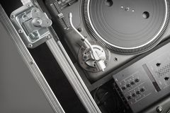 Turntables Stock Image