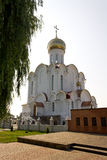 Turov, Belarus - June 28, 2013: Cathedral of Saints Cyril and Lavrenti of Turov June 28, 2013 in the town of Turov, Belarus Stock Photo