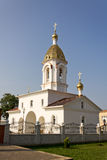 Turov, Belarus - June 28, 2013: Cathedral of Saints Cyril and Lavrenti of Turov June 28, 2013 in the town of Turov, Belarus Stock Images