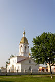 Turov, Belarus - June 28, 2013: Cathedral of Saints Cyril and Lavrenti of Turov June 28, 2013 in the town of Turov, Belarus Royalty Free Stock Photography
