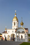 Turov, Belarus - June 28, 2013: Cathedral of Saints Cyril and Lavrenti of Turov June 28, 2013 in the town of Turov, Belarus Royalty Free Stock Image