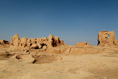 Turpan Jiaohe Ancient City Royalty Free Stock Images