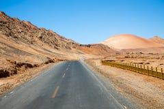 Turpan Uygur Zizhiqu, Xinjiang, Kina Royaltyfria Bilder