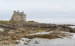 Turpault-Schloss in Bretagne stockfoto