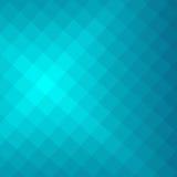 Turqoise几何抽象背景 免版税库存图片