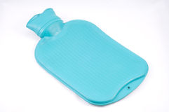 Turqouis hot water bag Royalty Free Stock Photography