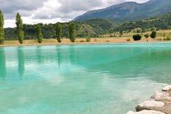 Turqouise water lake ((Dr�me, France) Stock Image