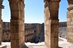 Turquía. Anfiteatro de Aspendos Imagen de archivo