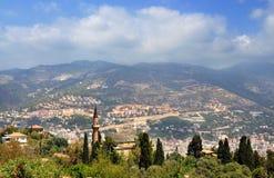 Turquía, castillo de Alanya Fotografía de archivo libre de regalías