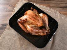 Turquía cocinada en cacerola de la asación Fotografía de archivo