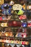 Turquía, Estambul, bazar magnífico Foto de archivo libre de regalías