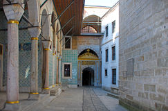 Turquía, Estambul, palacio de Topkapi Foto de archivo