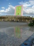 Turquemenistão - monumentos e construções de Ashgabat Fotografia de Stock Royalty Free