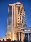 Turquemenistão - monumentos e construções de Ashgabat Imagem de Stock