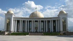 Turquemenistão - monumentos e construções de Ashgabat Imagens de Stock Royalty Free