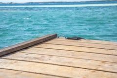 Turquesa, Azure Deck imagens de stock