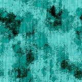 Turquesa inconsútil Grunge ilustración del vector