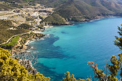 Turquesa Sardinia imagem de stock