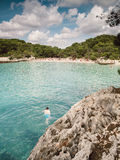 Turqueta beach in Menorca, Spain. Royalty Free Stock Photo