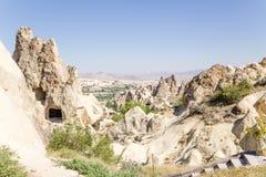 Turquia, Cappadocia Cave o complexo do monastério no museu do ar livre de Goreme Foto de Stock