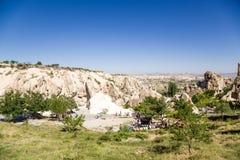 Turquia, Cappadocia Cave o museu complexo do ar livre do monastério do parque nacional Goreme Imagem de Stock