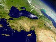 Turquia do espaço ilustração do vetor