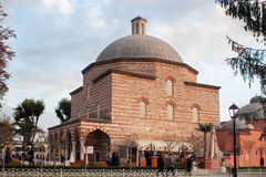 TURQUIA, ISTAMBUL - 6 DE NOVEMBRO DE 2013: Banhos turcos complexos Foto de Stock Royalty Free