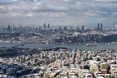 Turquia, Istambul, vista da cidade Imagens de Stock Royalty Free