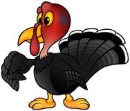 Turquia preta ilustração stock