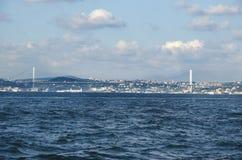 Turquia rebatiza Bosporus a ponte 'a ponte dos mártir do 15 de julho' Imagens de Stock
