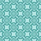 Turquiose seamless pattern Stock Image