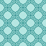 Turquiose seamless pattern Royalty Free Stock Images