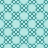 Turquiose seamless pattern Royalty Free Stock Image