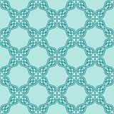 Turquiose seamless pattern Royalty Free Stock Photography