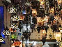 Turquish lamps Stock Photos