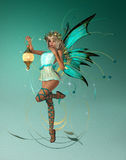 The turquois Pixie Stock Photos