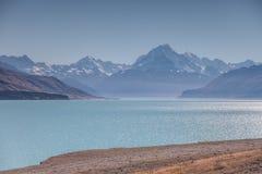 Turquoise湖 库存照片