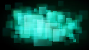 Turquoise abstract background of blurry squares. Abstract background of blurry squares in turquoise colors vector illustration