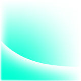 Turquoise And White Wave Royalty Free Stock Images