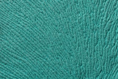 Turquoise background from soft textile material. Fabric with natural texture. Royalty Free Stock Photos