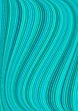 Turquoise background with stripes Royalty Free Stock Photo