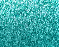 Turquoise background - Water drops Stock Photos Royalty Free Stock Image