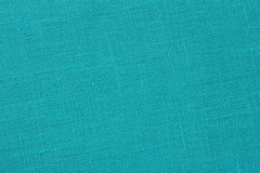Turquoise backround - Linen Canvas - Stock Photo Royalty Free Stock Photography