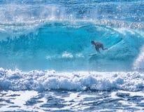 Turquoise Beach Barrels royalty free stock photos