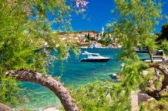 Turquoise beach of Ugljan island Royalty Free Stock Images