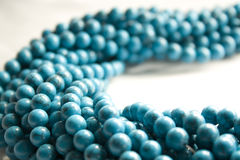 Turquoise Bead Bundle Stock Photography